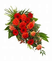 Red and Orange Tied Sheaf