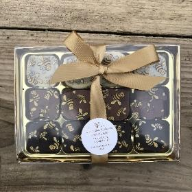 Manchester Bees Honeycomb chocolates